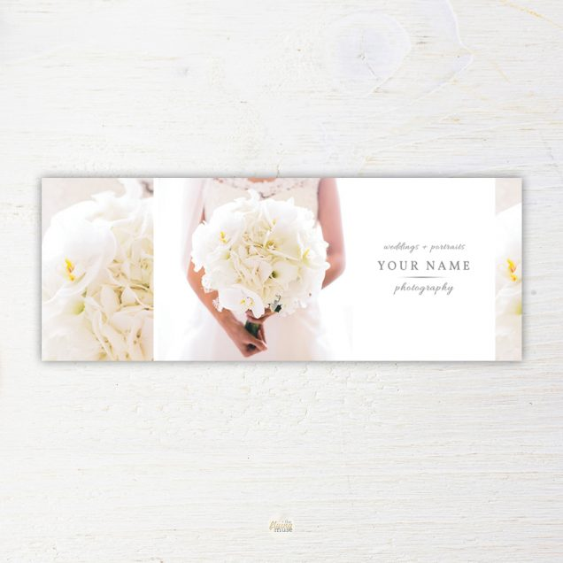 Wedding Photographer Facebook Cover Template