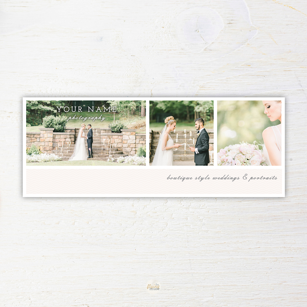 Facebook Cover Template For Wedding Photography Marketing