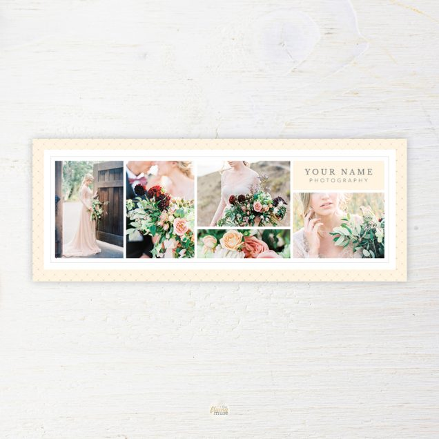 Wedding Photography Facebook Cover Template