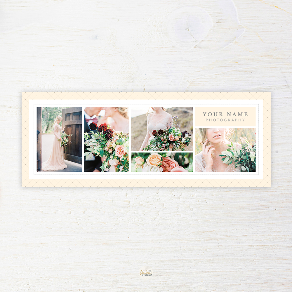 Wedding Photographer Facebook Timeline Template