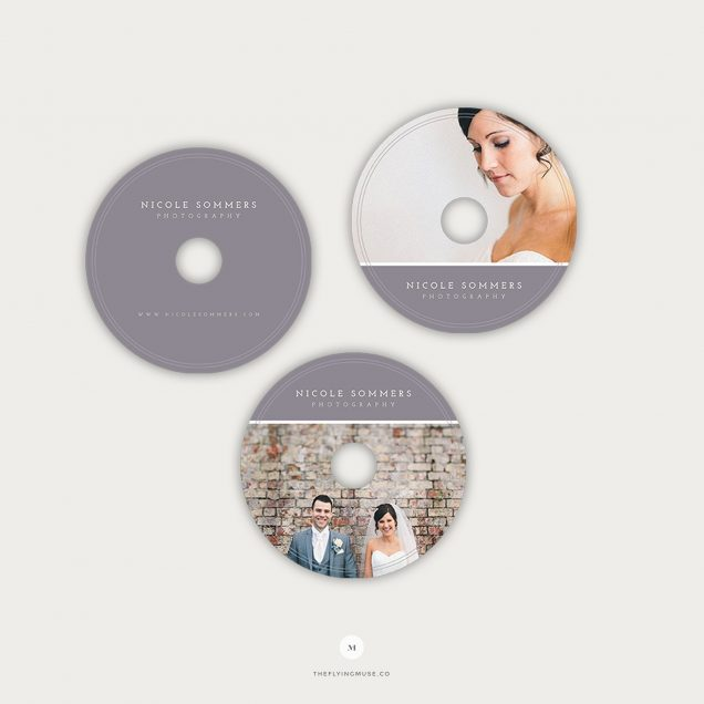 DVD Label Templates for Photographers