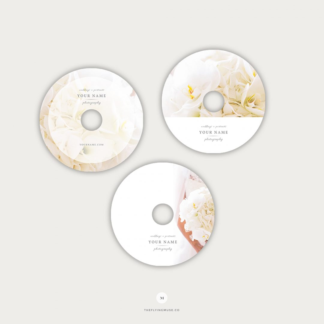 Photography DVD Templates CD012