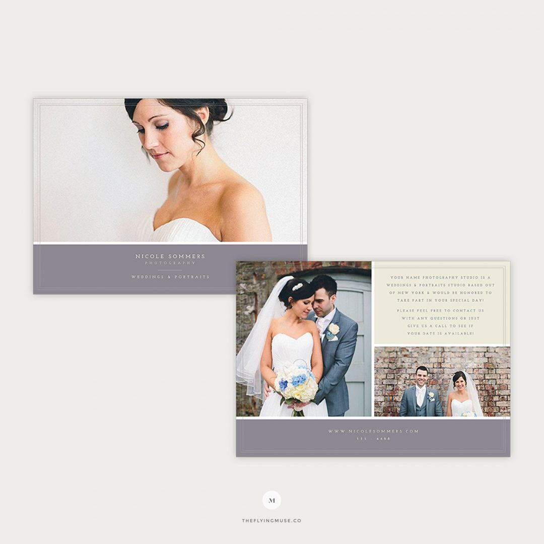 Photography Flyer Template for Wedding Photographers