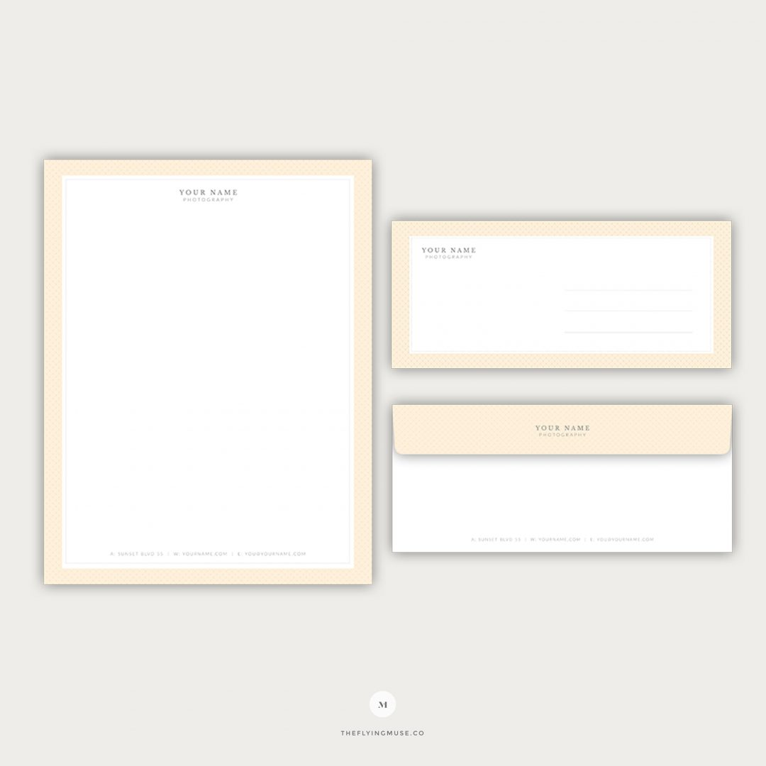 Stationery - Letterhead and Envelope Design for Photographers