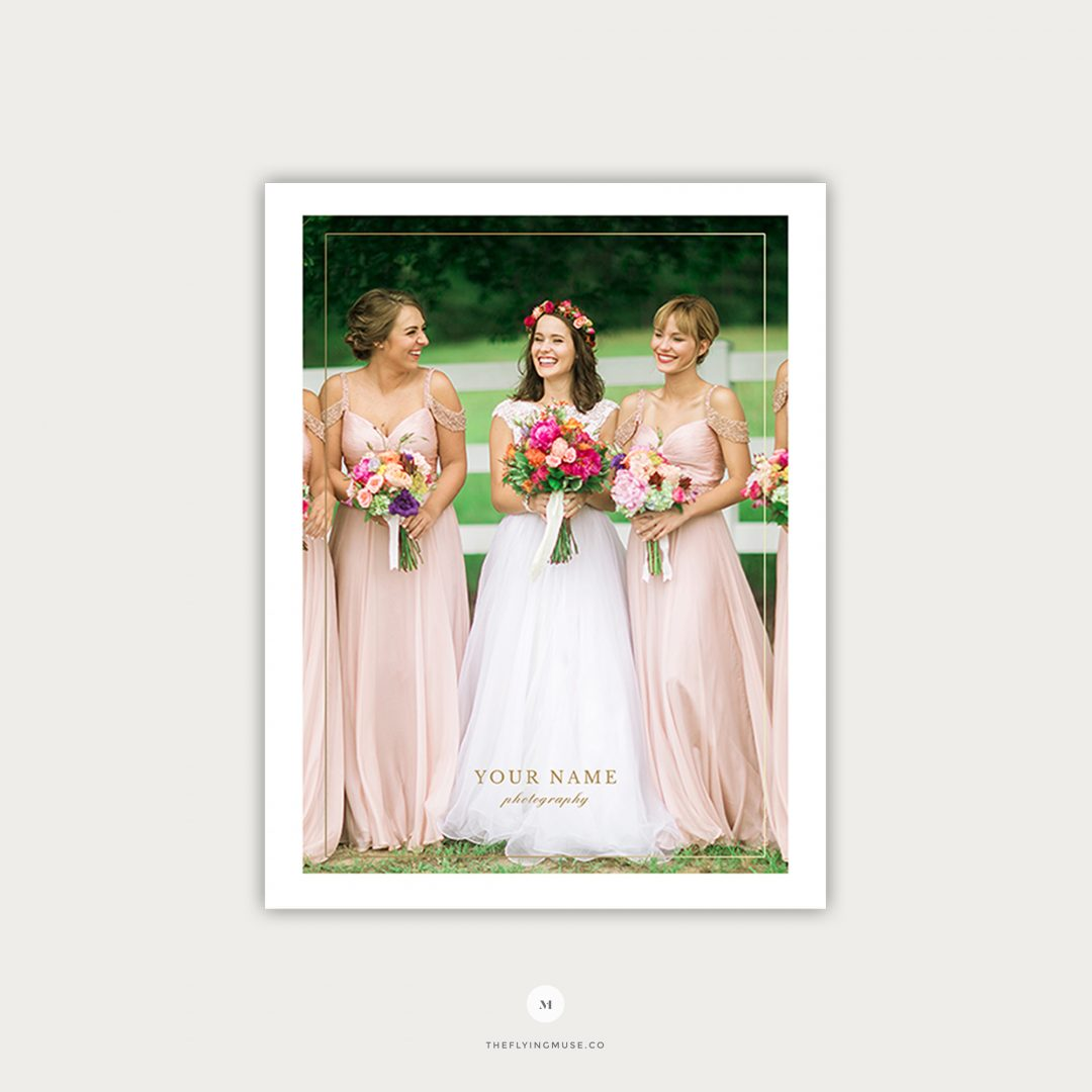 Wedding Photography Pricing Template Page 1 PG011