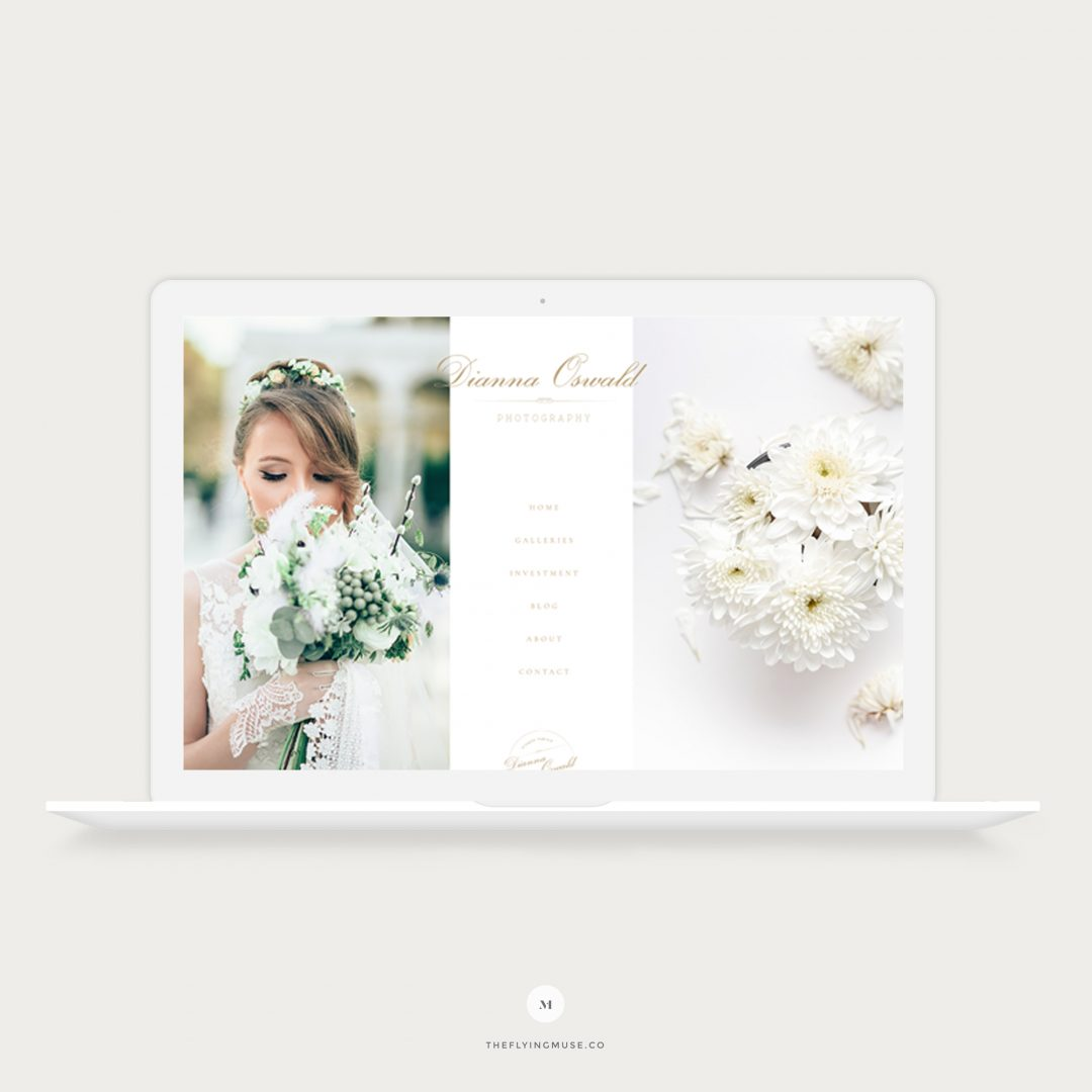 Dianna - ProPhoto 7 Website Design for Wedding Photographers
