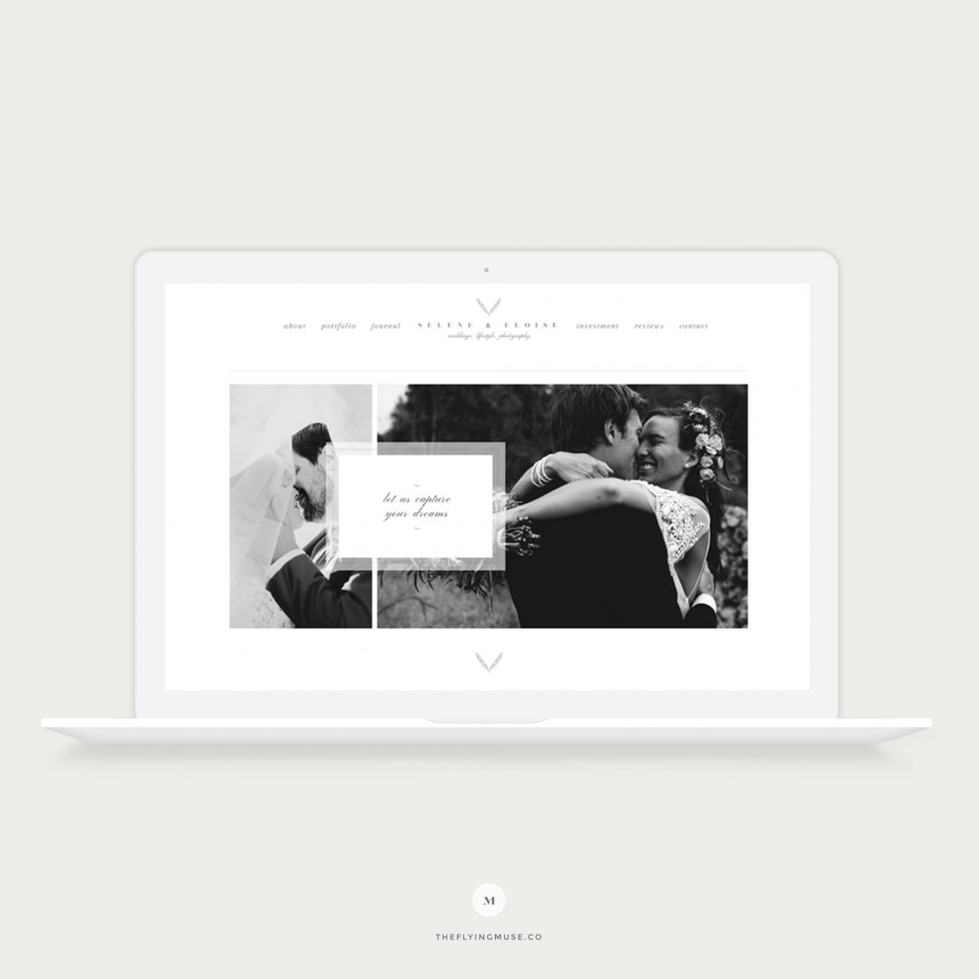 Selene - Classic & Timeless Wedding Photography ProPhoto 6 Design Template