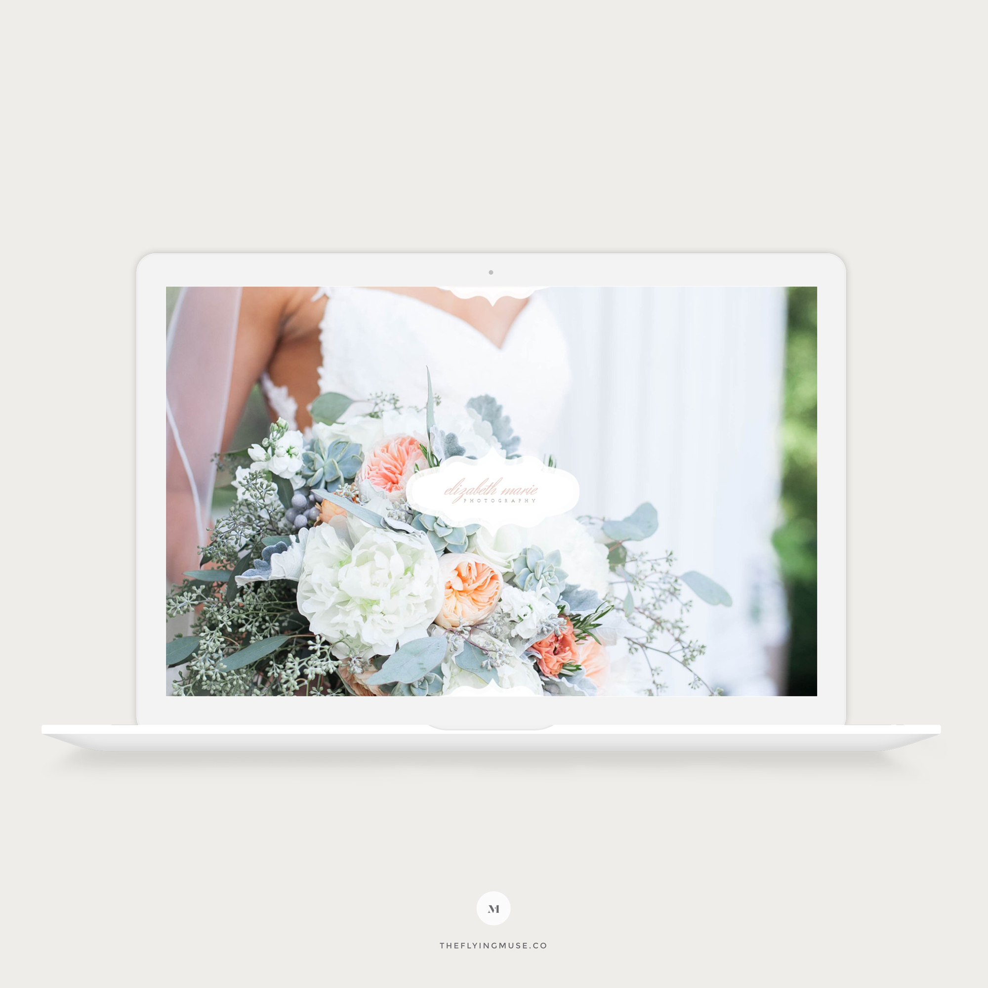 Elizabeth Marie - Classic Elegant ProPhoto 7 Design for Wedding Photographers