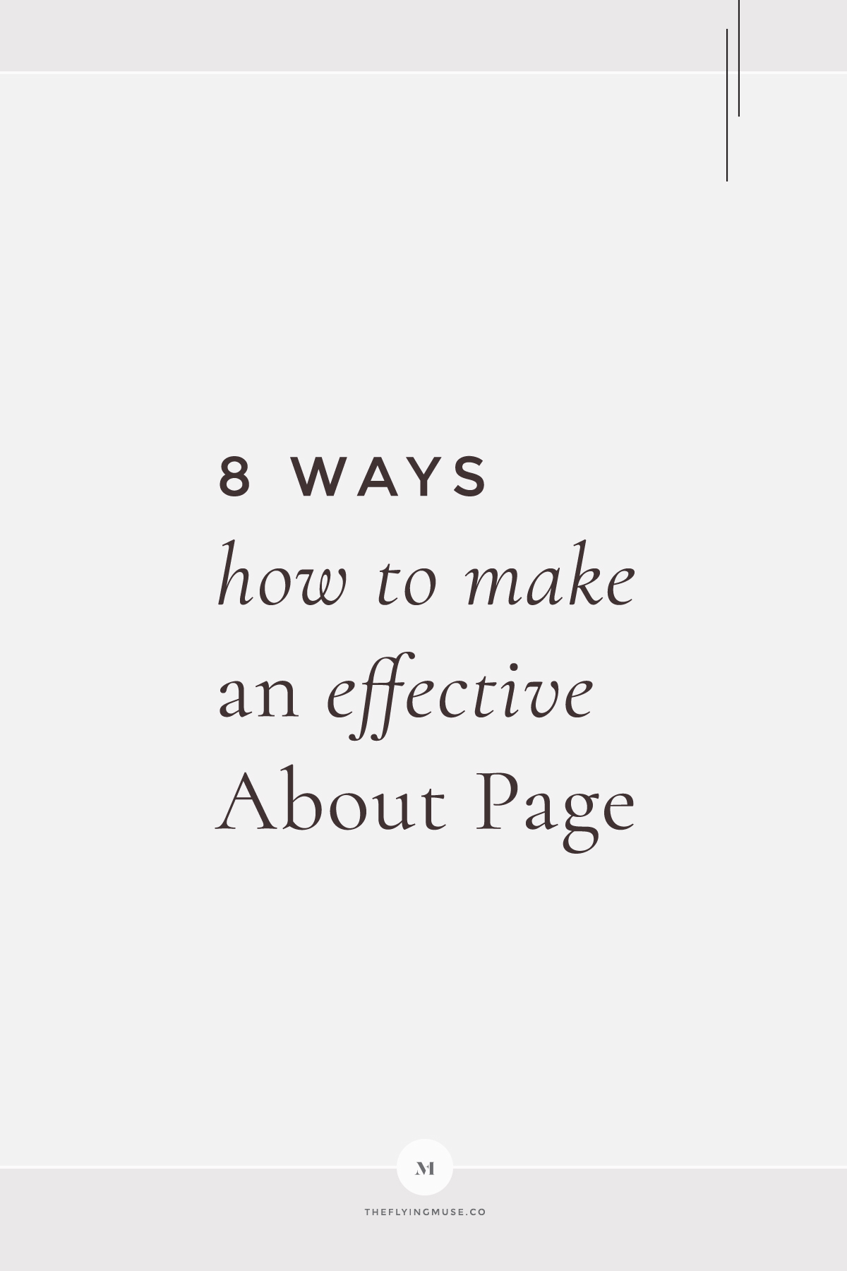 Ways How to make an Effective About Page