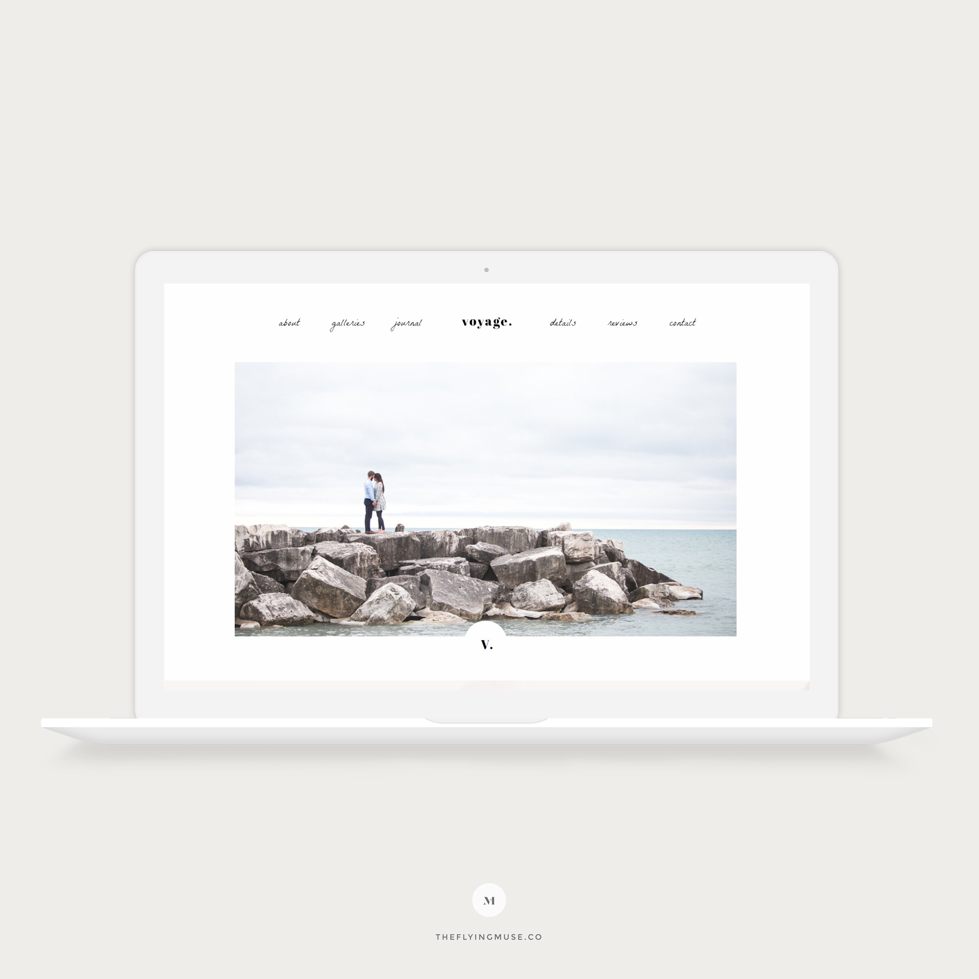 Voyage | A Dreamy Showit 5 Website Design for Wedding and Portrait Photographers