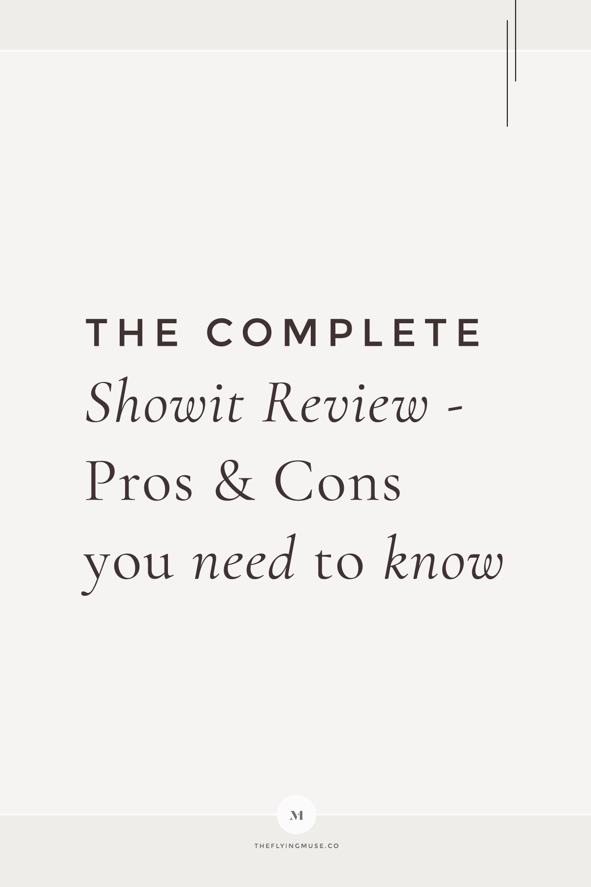 The Complete Showit Review - Pros and Cons You Need to Know