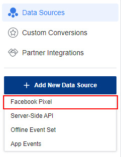 Add Facebook Pixel on Facebook Business Manager