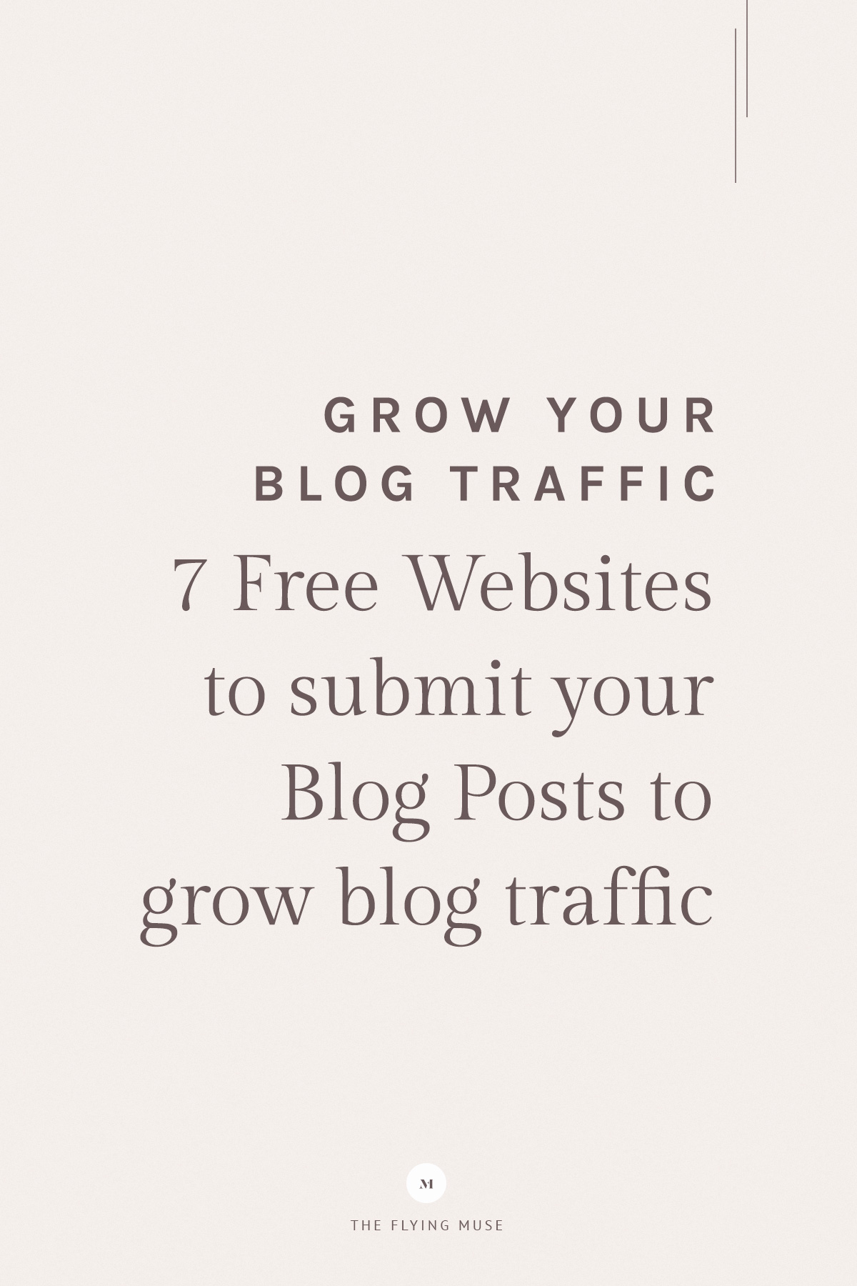 Grow Your Blog Traffic - Free Websites to Submit Blog Posts to